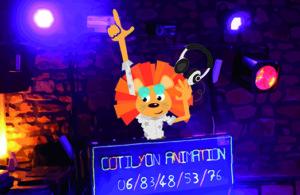 Animateur mascotte pour enfant