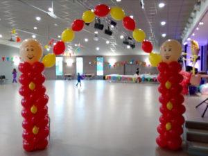 Ballon hélium pour soirée, événement Lyon