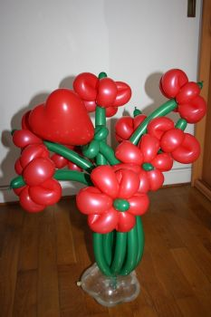 bouquet fleurs ballons lyon