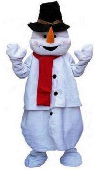 mascotte bonhomme neige lyon