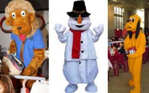 animateur mascotte peluche, animation pour fête anniversaire
