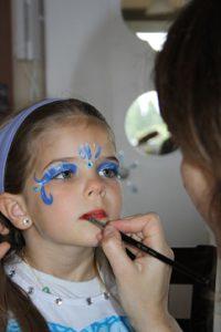 Maquilleuse anniversaire, animation maquillage pour soirée, événément entreprise et particulier